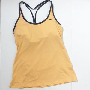 Nike Dry Fit Racerback Tank with Built In Bra